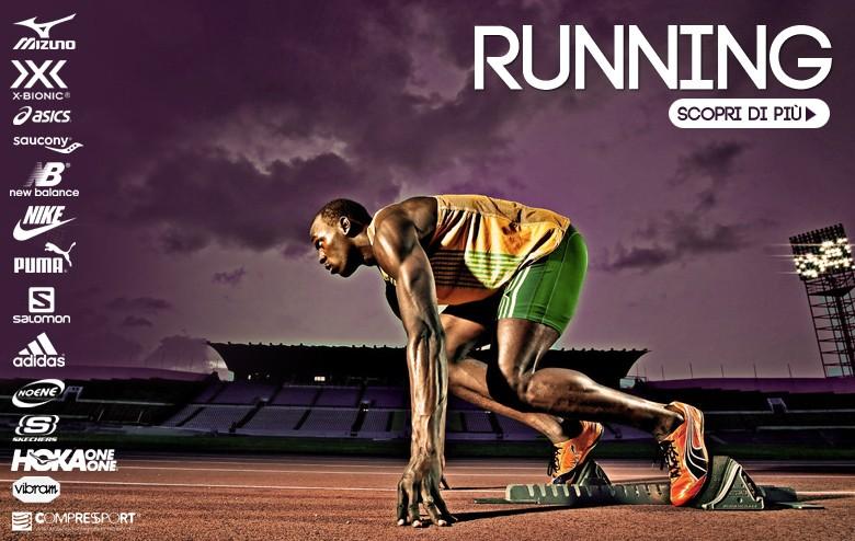 Reparto running Noi Sport
