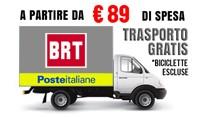 Spedizione gratuita per ordini a partire da 89 euro