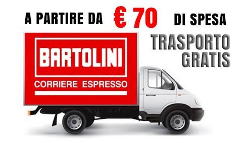Spedizione gratuita per ordini a partire da 70 euro
